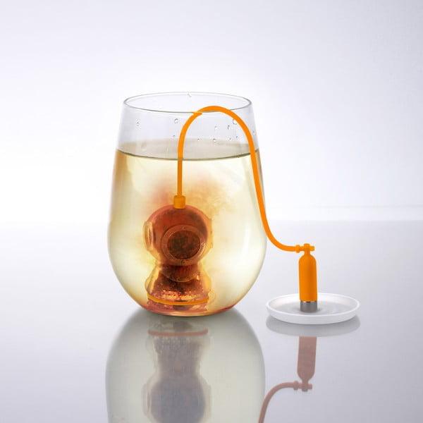 Silikónové sitko na čaj Fred & Friends Deep Tea Diver