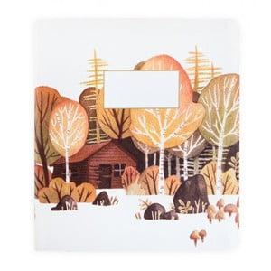 Zápisník Ohh Deer Woodland
