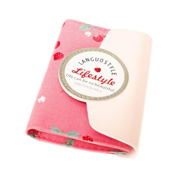 Puzdro na doklady Sweet, ružové