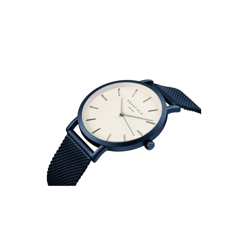a5cf5fa62 Bielo-modré dámske hodinky Rosefield The Mercer | Bonami