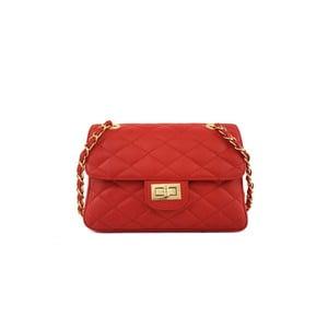 Kožená kabelka Valentina Red