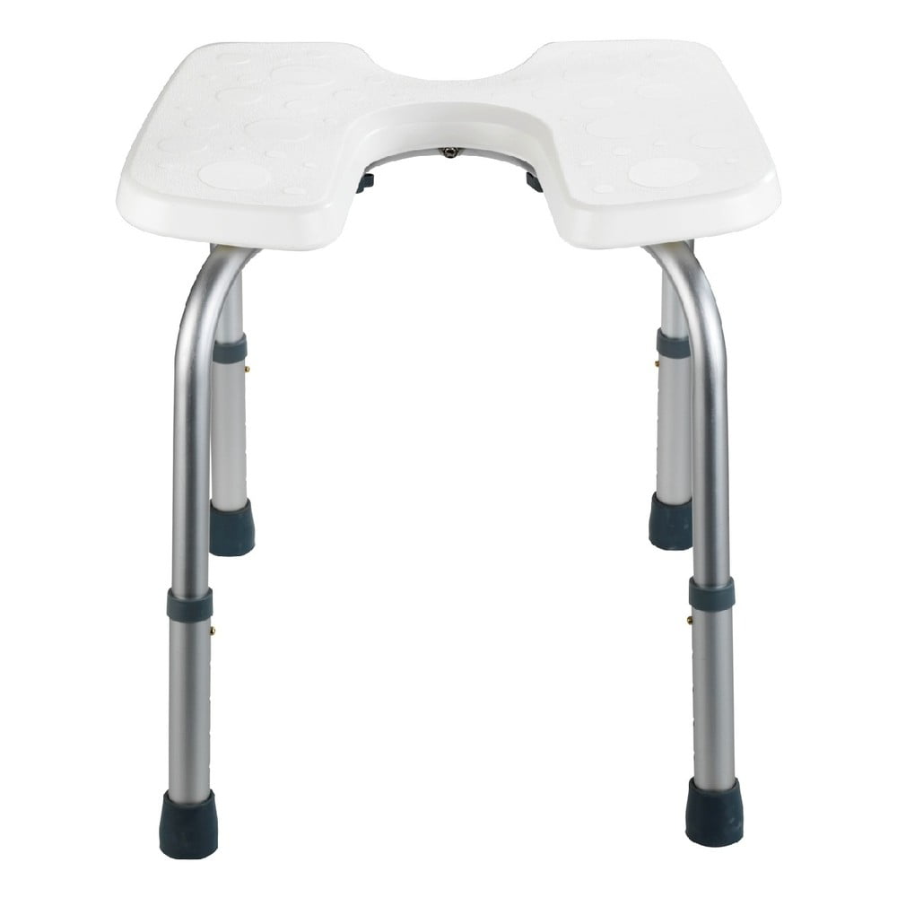 Stolička do sprchy Wenko Hygienic Stool White 53 × 46 cm