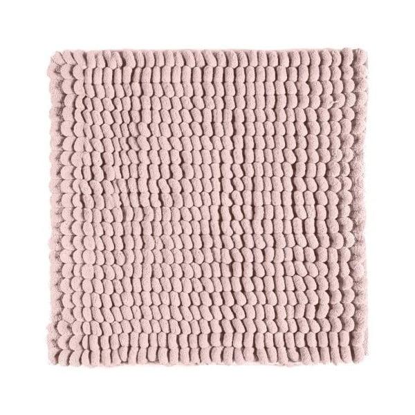 Ružová kúpeľňová predložka Aquanova Luka, 60 x 60 cm