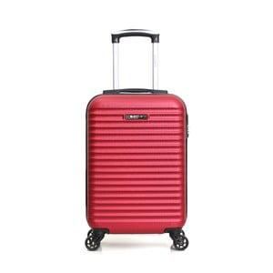 Červený príručný kufor na kolieskách Bluestar Atlanta, 32 l