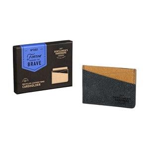 Púzdro na karty z recyklovanej kože Gentlemen's Hardware Card