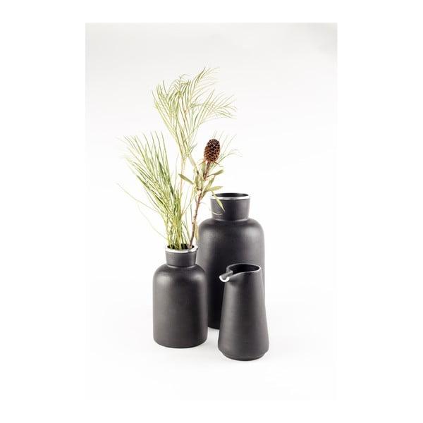 Čierny hliníkový džbán Zuiver Farma
