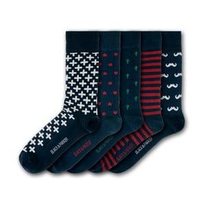 Sada 5 ponožiek Black&Parker London Marwood Hill, veľkosť 37 – 43