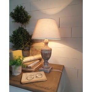 Stolná lampa Antique Wood, 30x50 cm