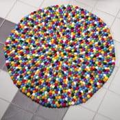 Ručne vyrobený guličkový koberec Happy Pills