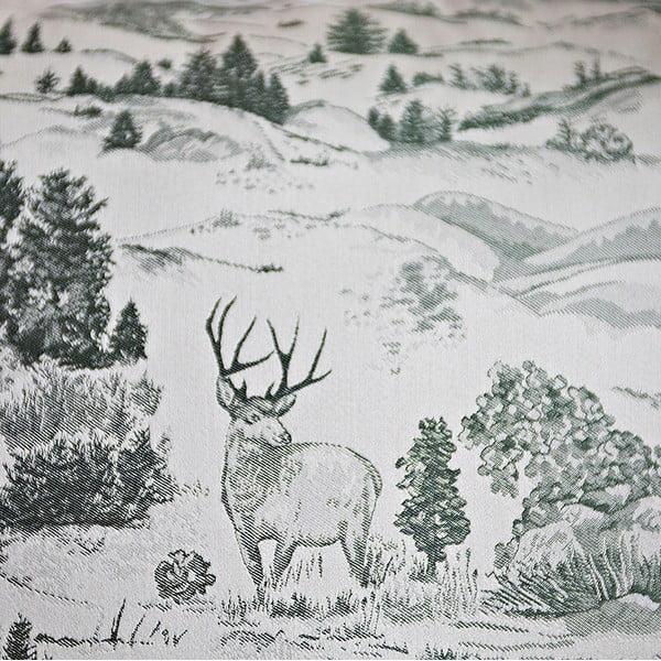Vankúš s výplňou Green Forest, 50x50 cm