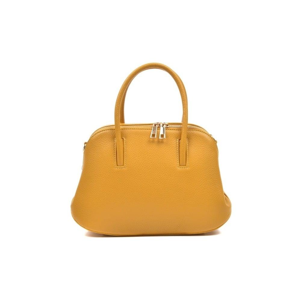 Kožená kabelka v zlatej farbe Isabella Rhea Beata na predaj 19de77582a1