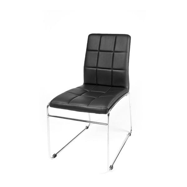 Jedálenská stolička Kid, čierna