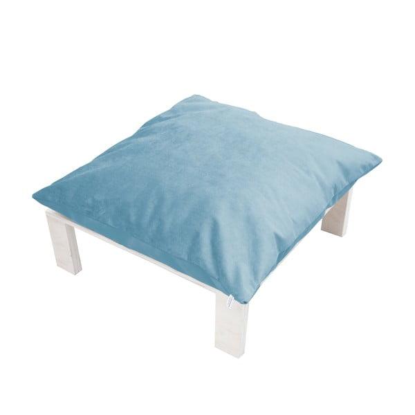 Podnožka s vankúšovým sedákom Tanzania Light Blue