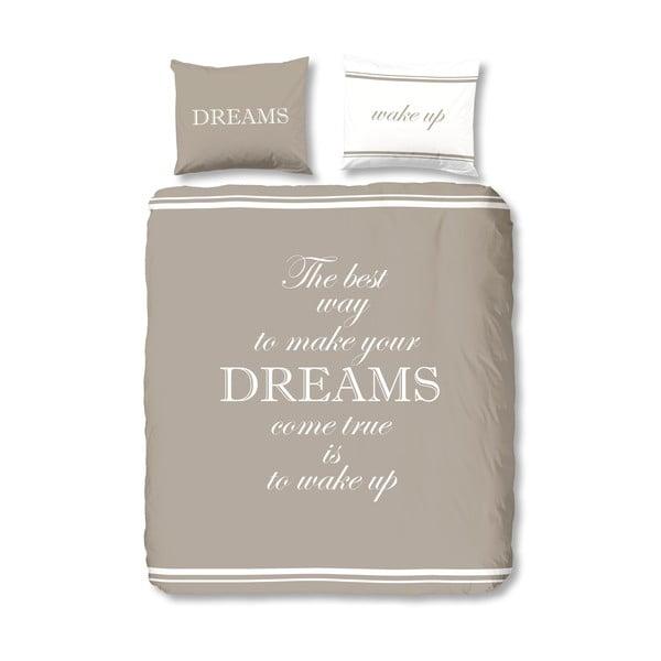 Obliečky Dreams Taupe, 200x200 cm