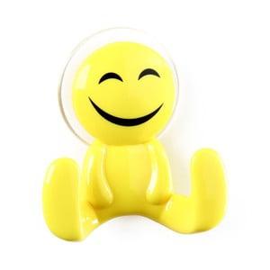 Žltý háčik v tvare panáčika Unimasa Happy