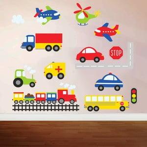 Samolepka na stenu Color travel