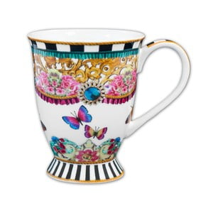 Porcelánový hrnček Melli Mello Stripe, 150ml