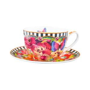 Porcelánová šálka s tanierikom Melli Mello Eliza, 250ml