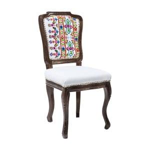 Jedálenská stolička s konštrukciou z mangového dreva Kare Design Lotta