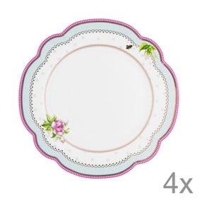 Porcelánový tanier  Lovely od Lisbeth Dahl, 19 cm, 4 ks