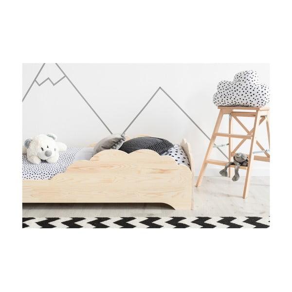 Detská posteľ z borovicového dreva Adeko BOX 9, 100×170 cm