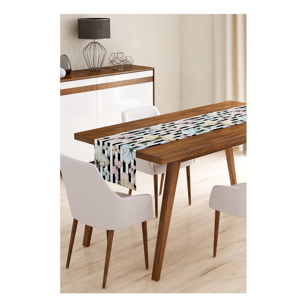 Behúň na stôl z mikrovlákna Minimalist Cushion Covers Paulina, 45 × 145 cm