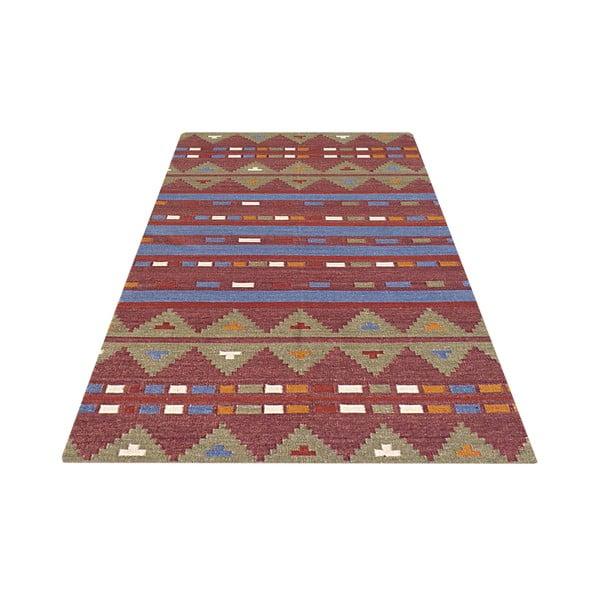 Vlnený koberec Kilim no. 701, 155x240cm