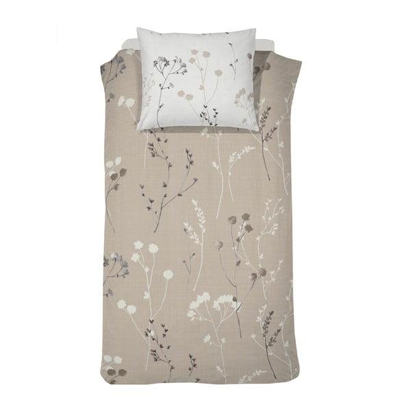 Obliečky Patula Taupe Flannel, 140x200 cm