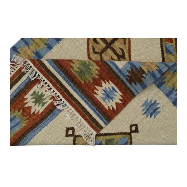 Ručne tkaný koberec Kilim Classic K26 Mix, 95x155 cm