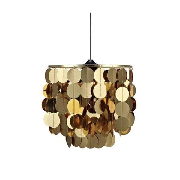 Stropné svetlo v zlatej farbe Markslöjd Zumba
