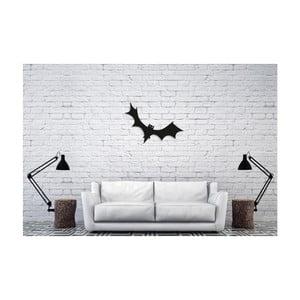 Čierna nástenná dekorácia Oyo Concept Bat, 40×60 cm