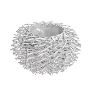 Dekoratívny košík/kvetináč Dino Bianchi, ⌀ 31 cm
