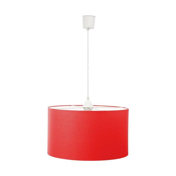 Závesné svietidlo White Inside Three Red