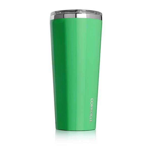 Zelený termohrnček Corkcicle, 700ml