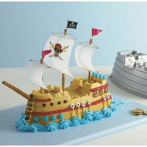 Forma na tortu Pirátská loď