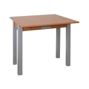 Rozkladací jedálenský stôl v dekore čerešňového dreva Pondecor Elvira, 40×80cm