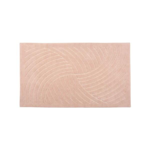 Koberec Waves 80x150 cm, ružový