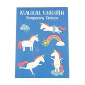 Sada 2 lisotv dočasného tetovania Rex London Magical Unicorn
