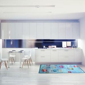 Vysokoodolný kuchynský koberec Webtapetti Pots, 60 x 115 cm