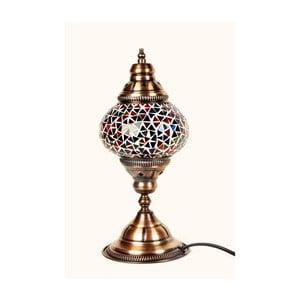 Sklenená lampa Homemania Oriental, ⌀13cm