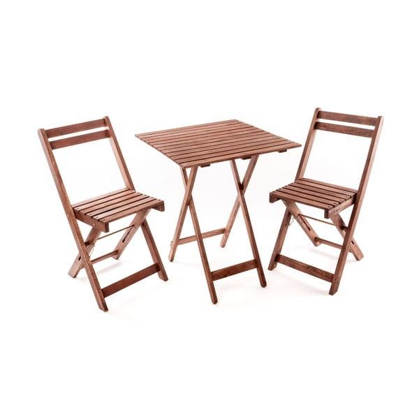 Záhradný nábytok so štvorcovým stolom Ava