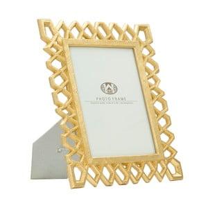 Stolový fotorámik v zlatej farbe Mauro Ferretti Classic, 15 × 20 cm