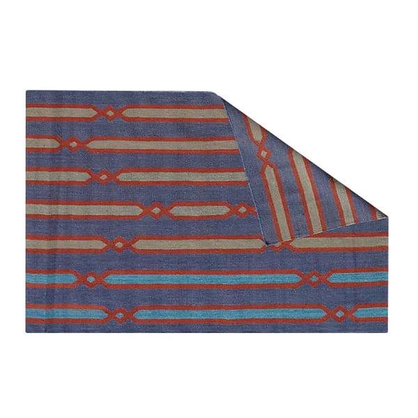Ručne tkaný koberec Kilim Prisha, 120x180 cm