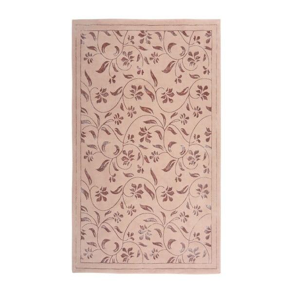 Ružový koberec Floorist Florist,140x200cm