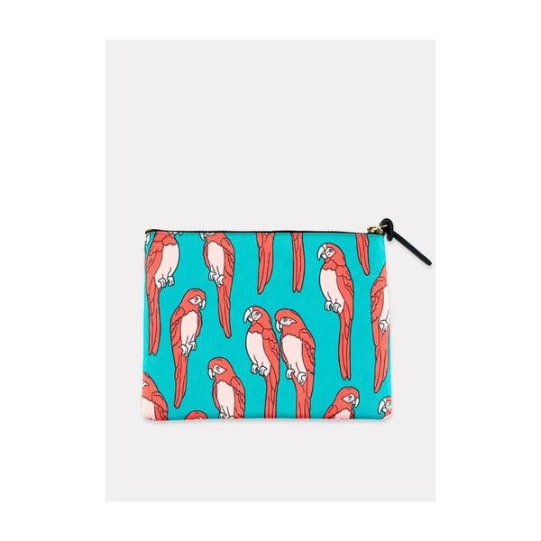 Listová kabelka/kozmetická taštička Parrots L
