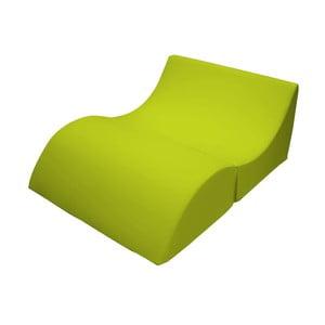 Zelené variabilné ležadlo/stolík 13Casa Cleo
