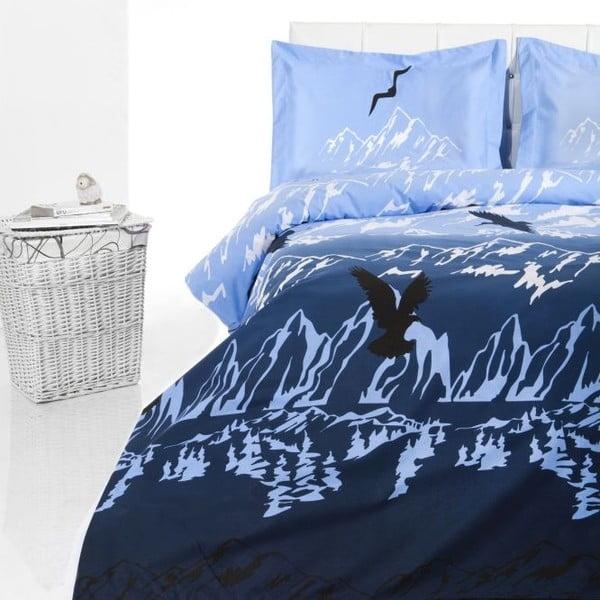 Obliečky Blue Tatra, 200x220 cm