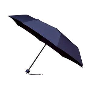 Vetruodolný modrý skladací dáždnik Ambiance Mini-Max, ⌀ 100 cm