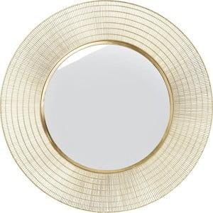 Zrkadlo Kare Design Nimbus Messing, ø90cm