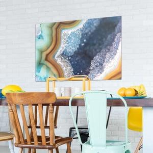Sklenený obraz OrangeWallz Gemstone Super, 76 x 114 cm